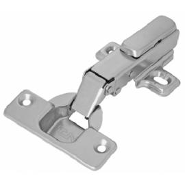Dobradiça TN Inox MS Easy Reta com Calço de Fixação Dupla