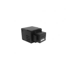 CONECTOR USB 5V 2.1A CHARGER PRETO QM99082.11