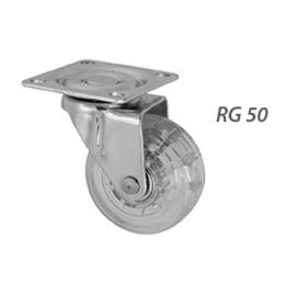 RODIZIO RG50 COM ROLAMENTO TRANSP S/ FREIO