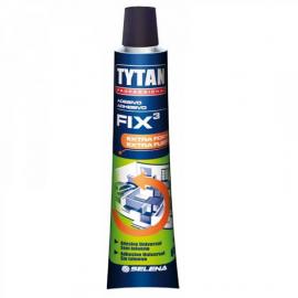 ADESIVO TYTAN FIX3 BEGE 60G BISNAGA CART 040018