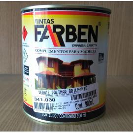 Verniz Polimar Brilhante Ambiente Externo 900ml - Farben 341.030