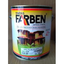 Verniz Polimar Brilhante Ambiente Externo 3.6L - Farben 341.030